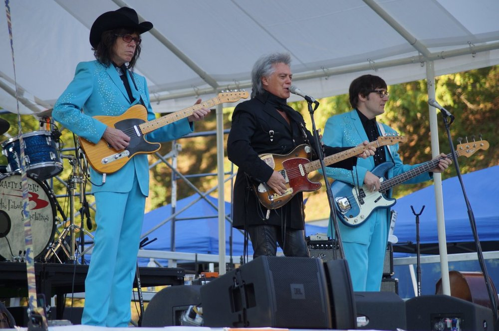 Marty Stuart & band performing