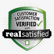 RealSatisfied logo which clicks to Danny Porter customer ratings